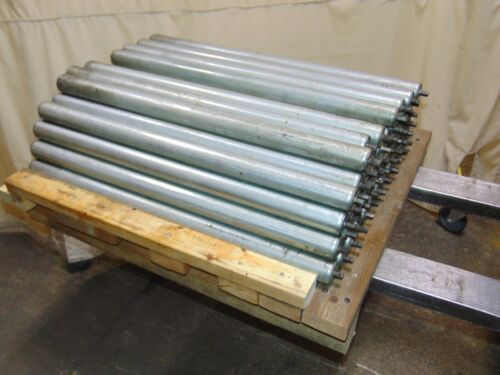 Lot of 53 Replacement Gravity Roller Conveyors Rollers 31""