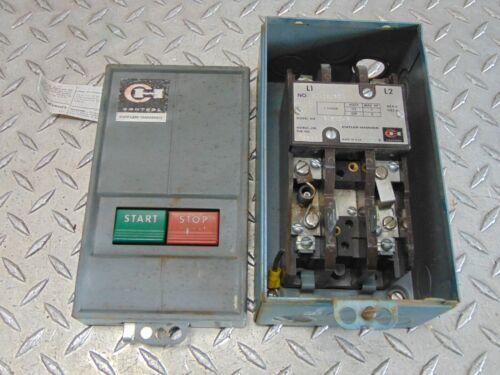 CUTLER HAMMER 9115H203K AC MANUAL MOTOR STARTER MODEL 6-200-2