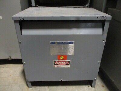Square D 15t3h 15 Kva 3 480 X 120208 Volt Transformer Os- T1070
