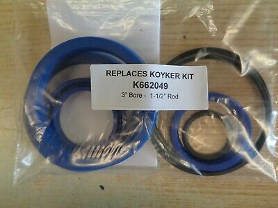 K662049 Replacement Seal Kit For Koyker Cylinder With 3.0 Bore 1-12 Rod
