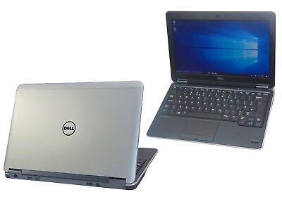 Dell Latitude E7240 Core i5-4300U 8GB Ram 256GB SSD Windows 10 Webcam Laptop