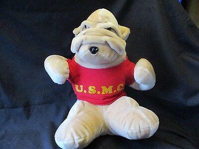 USMC BULLDOG Plush United States Marine Corps