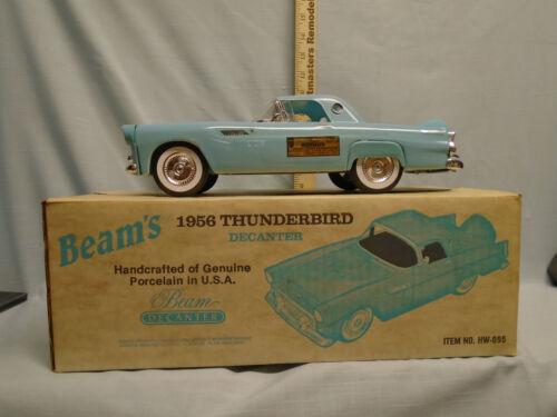 Jim Beam 1956 Powder Blue Ford Thunderbird Decanter