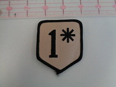 One Percent Patch Tan 3""