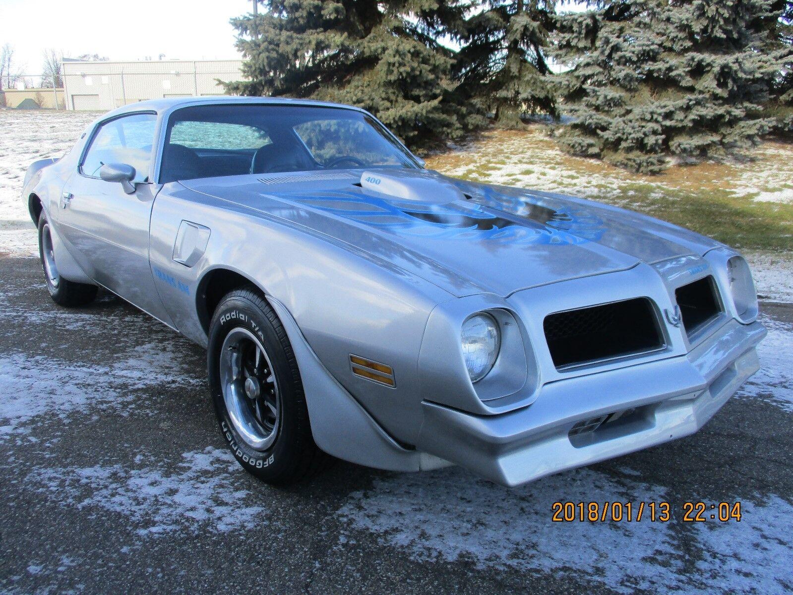 1976 Pontiac Trans Am Trans Am weet 1976 Pontiac Trans Am Fresh built 400 motor runs perfect sounds great 4spd