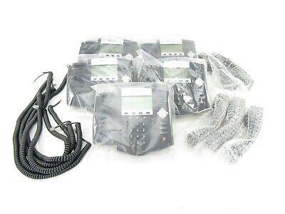 Lot Of 5 Polycom Soundpoint Ip450 Digital Telephones