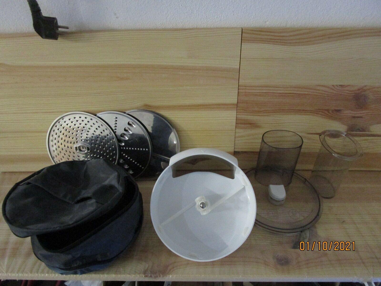 Bosch Küchenmaschine Mum 5 - Zubehör , Durchlaufschnitzler mit 3 Sch. + Tasche