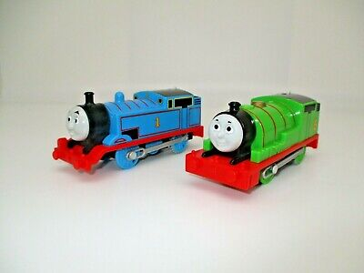 Thomas & Friends Trackmaster Motorized Lot Trains: #1 & Percy Engines Both 2013