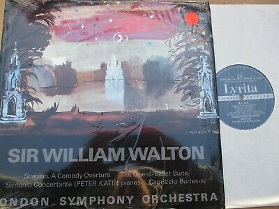 SRCS 49 Walton Scapino The Quest Ballet Suite etc / Katin / LSO