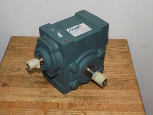DODGE 17S25R TIGEAR-2 Right Angle Worm Gear Speed Reducer, 25:1 RATIO