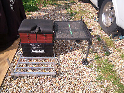 BOSS BOX FISHING SEAT BOX 8 DRAW SYSTEM