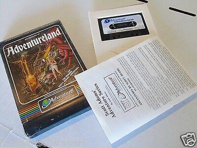 - Atari Computer 400 800 XL XE Adventureland Video Game Computer System