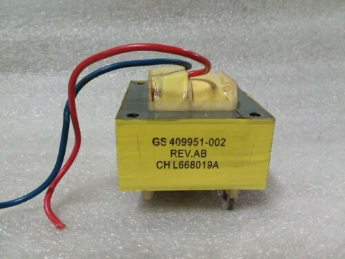 GS 409951-002 Rev AB  CHL668019A  3-Wire Transformer