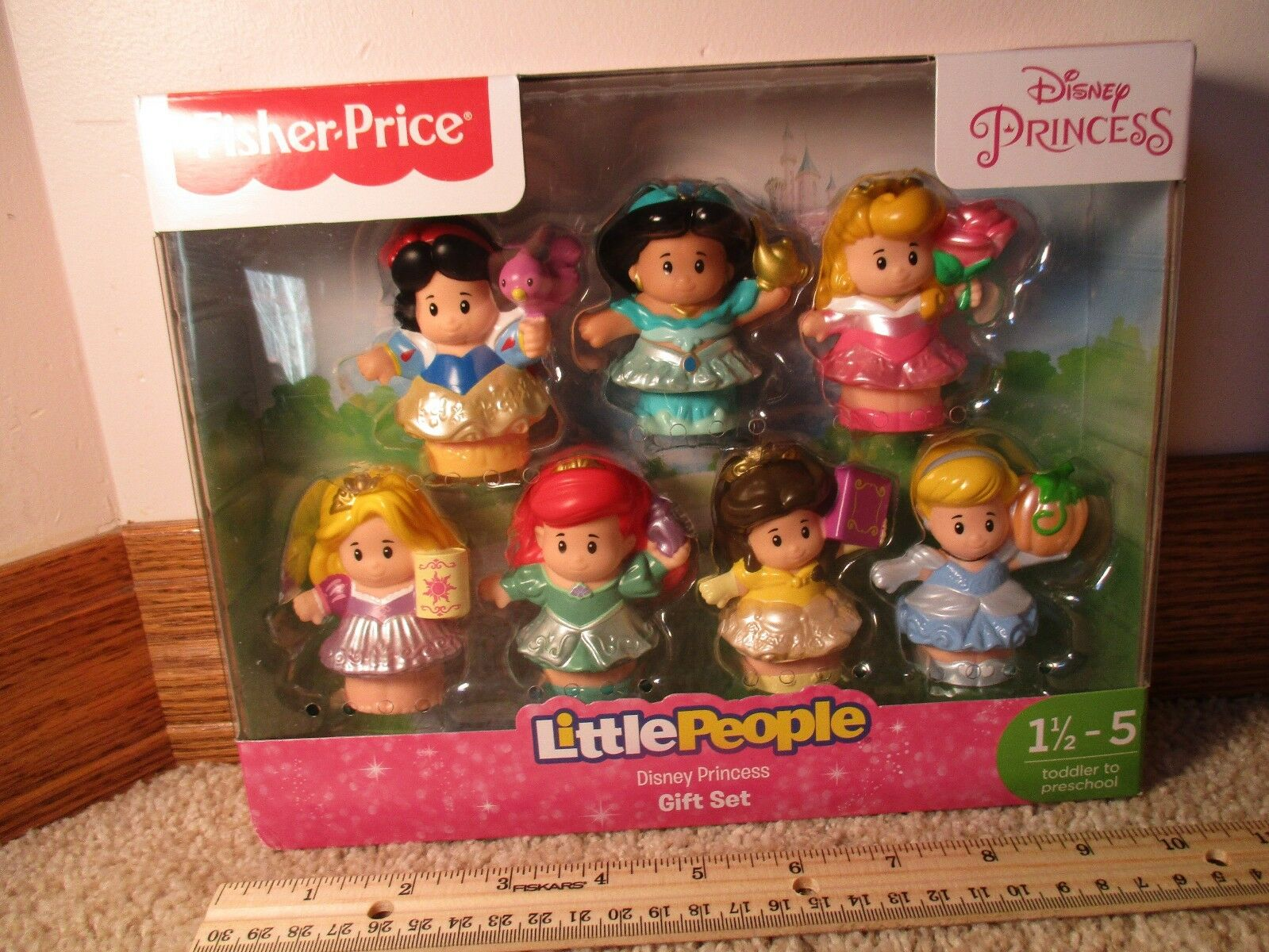 Fisher Price Little People Disney Princess Princesses Snow W