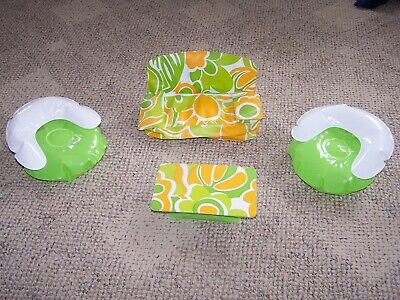 Vintage 70's Barbie Puff & Play inflatable blow up Living Room furniture, 4 pc