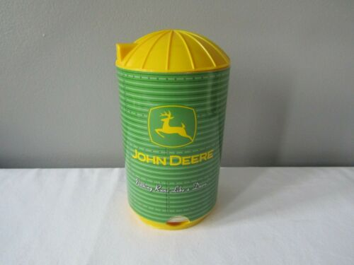 John Deere Silo Coaster Dispenser w/Absorbing Coasters