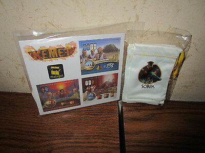 Matagot Kemet Dice Tower Power Tiles  Tuck Boxes  Silk Player Bags Promo Package