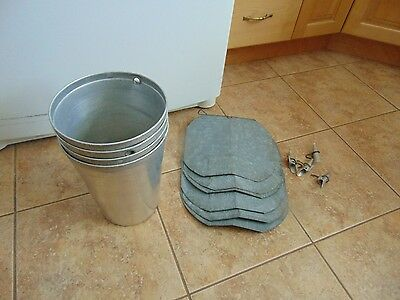12   maple syrup aluminium sap buckets +lid cove+taps spiles   nice  1616