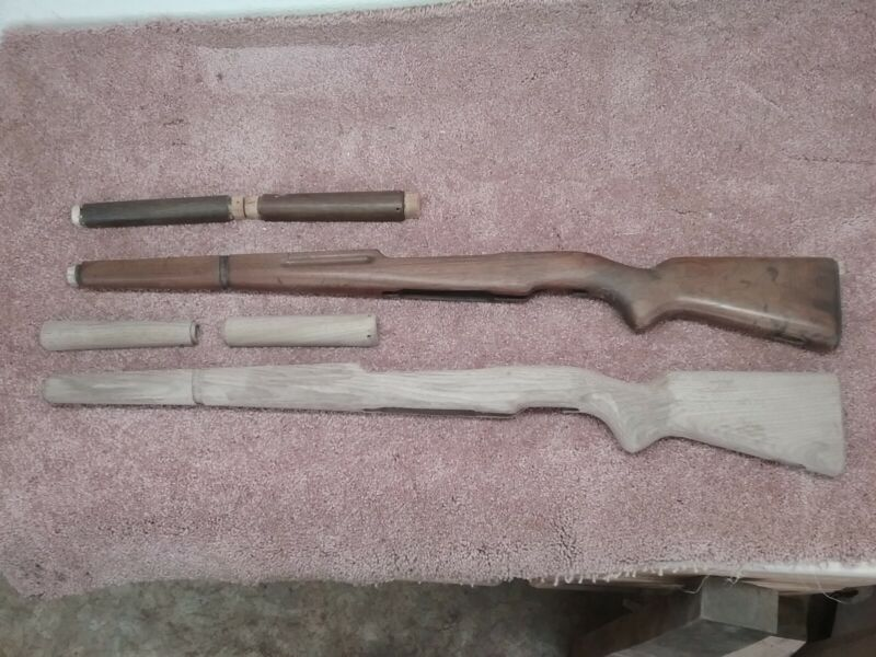FN 49 Luxembourg rifle stock