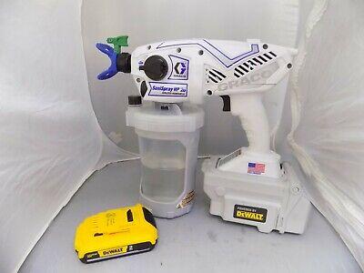 Graco Hp20 Sanispray Hp2handheld Airless Disinfectant Sprayer Package Cordless