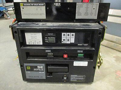 Square D Sef361600lses1a4 1600a Circuit Breaker- Warranty Wtest Report