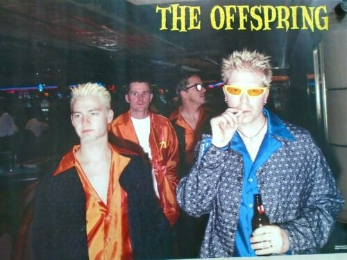 """the OFFSPRING - Original POSTER """"1997"""" Group / Exc. New cond. / 22 x 34""""  #6168"""