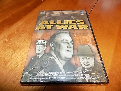 Allies At War Churchill Roosevelt De Gaulle Allied Leaders Fued Wwii Dvd New