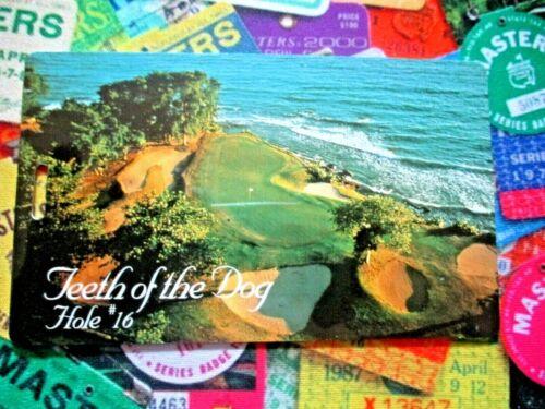 vtg - PGA Golf Bag Tag - CASA de CAMPO - Teeth of the Dog - Dominican Republic