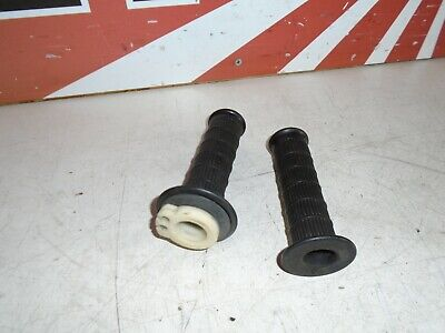 <em>YAMAHA</em> XS500 PAIR OF GRIPS  1977  XS THROTTLE SLEEVE  GRIPS