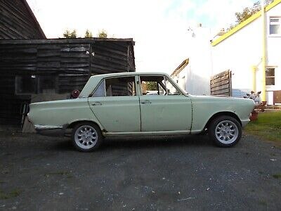 FORD MK1 CORTINA 1963 ROLLING SHELL PROJECT BILSTEINS RS CAPRI LOTUS STYLE MODS