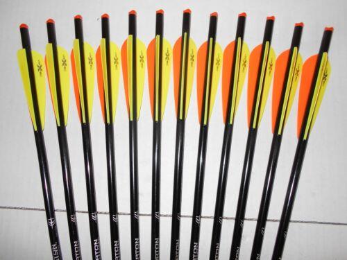"1dz. Horton Crossbow Bolts/Arrows! 2219 20"" half moon nocks bolt arrow"