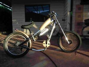 Electric bicycle - chopper