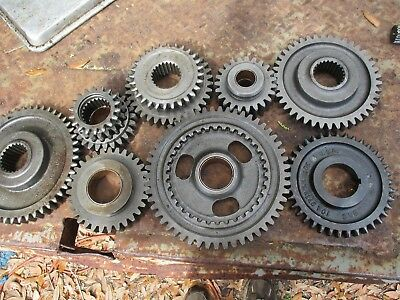 1959 Minneapolis Moline Jet Star Gas Tractor Transmission Shifting Gears
