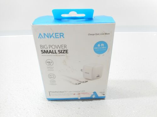Anker - PowerPort Atom Wall Charger - White B2017J23-1