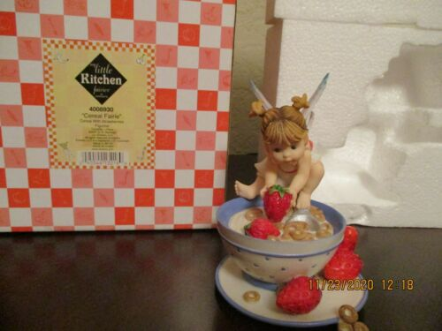 CEREAL MY LITTLE KITCHEN  FAIRIE PREOWNED WITH  BOX