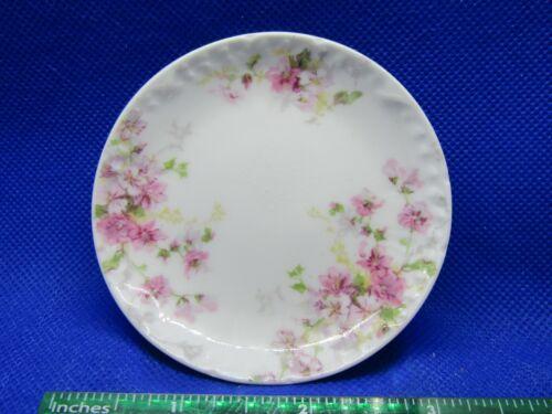 """Vintage Porcelain Butter Pat Plate - GDA CH field Haviland Limoges ~3.25"""" Dia"""