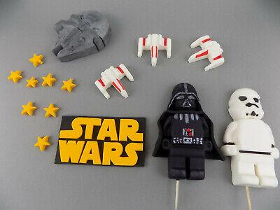 STAR WARS Set 8-13 ( check description) edible cake toppers decoration