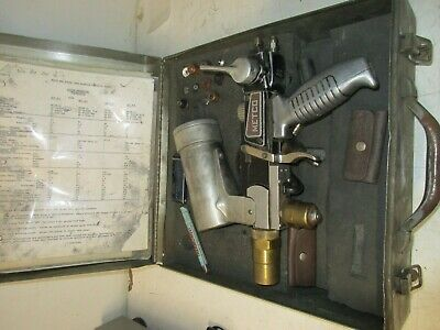 Metco 5p Thermospray Gun In Case Used