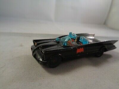Husky no.1402 BATMOBILE Car With Towing Eye , Vintage Diecast