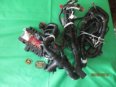 John Deere Oem At481427 Skid Steer Main Wiring Harness Models Below
