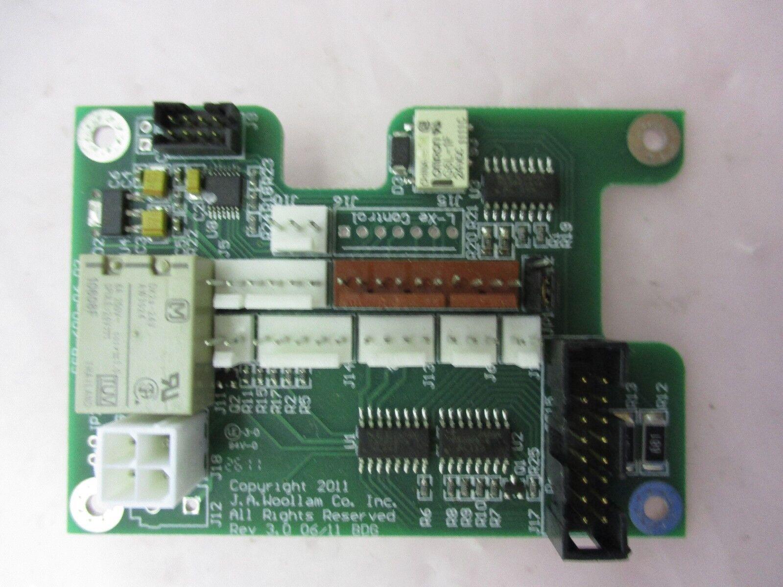 J.A. Woollam SSB-600-06.03 PCB Board, 420444