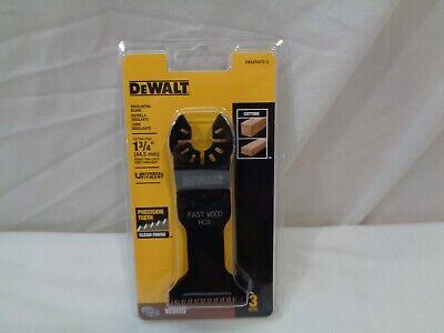 Dewalt 1 34 Oscillating Blades 3-pack Brand New