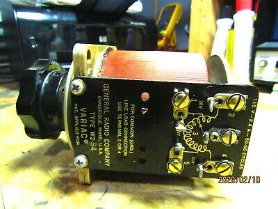 General Radio W2 Variac Autotransformer Nos