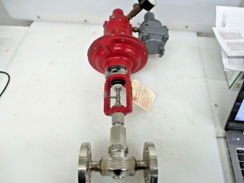 """NEW STAINLES 1/2"""" BADGER METER RESEARCH CONTROL VALVE 1002GCF36BV0PFEP3T"""