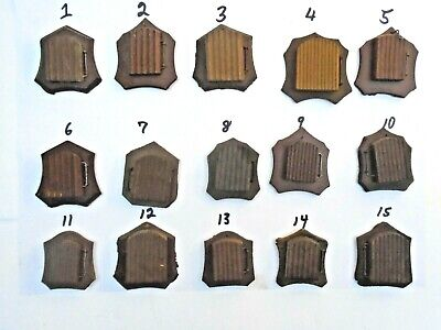 Lot of 15 Doors and Frames for Cuckoo Clocks