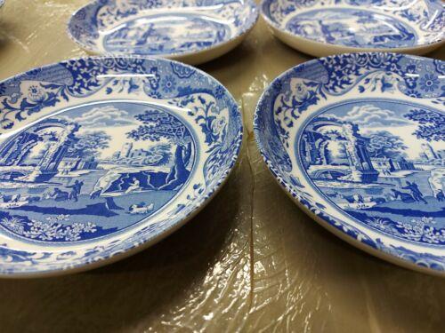 Spode Blue Italian set of 4 pc individual pasta bowls