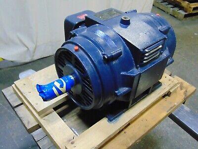 20 Hp Marathon Electric Motor 3 Phase 1-58 Shaft