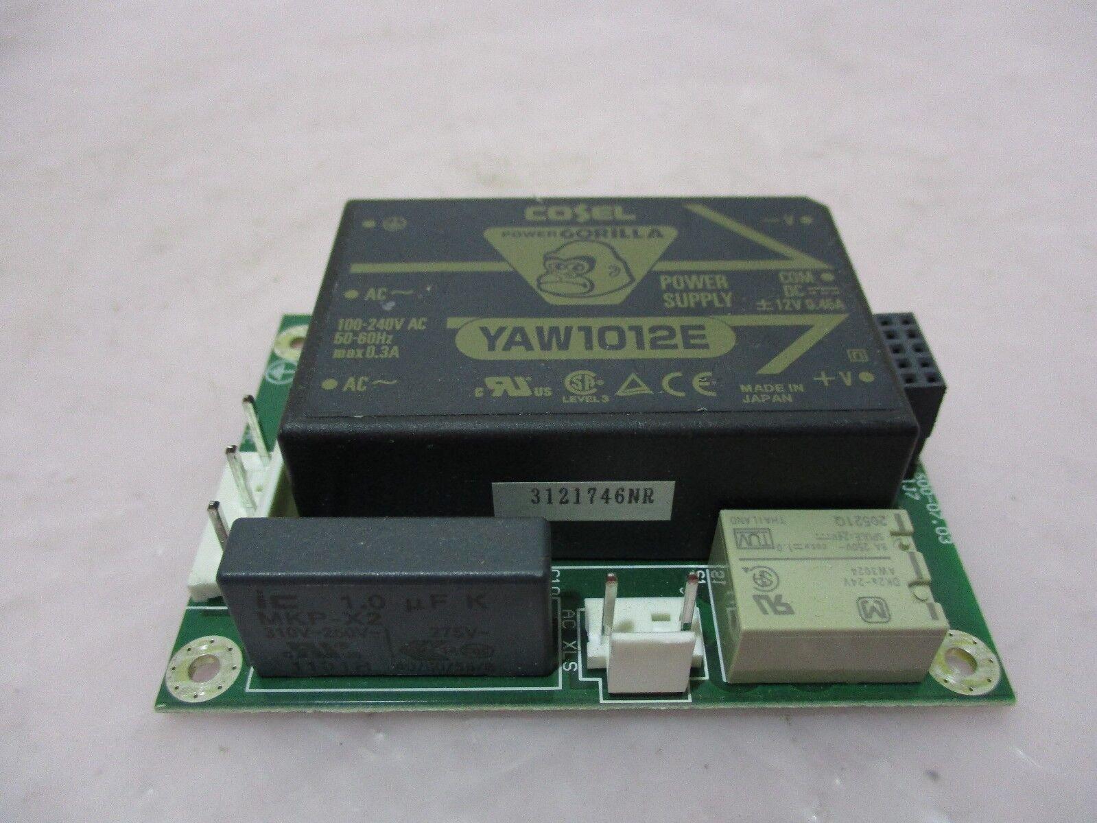 J.A. Woollam SSB-600.07.03 PCB Board W/ Cosel YAW1012E Power Supply, 420570