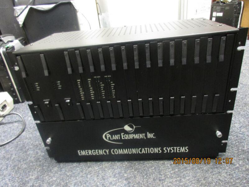 Plant Equipment Emergency Communications System