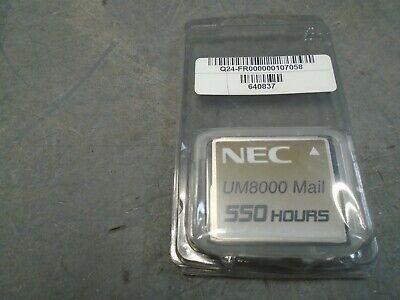 Nec Univerge Um8000 550 Hour Compact Flash Card 640837